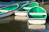 White Rowboats