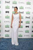 LOS ANGELES - MAR 1:  Gong Li at the Film Independent Spirit Awards at Tent on the Beach on March 1,
