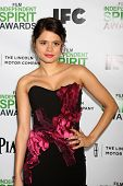 LOS ANGELES - JAN 11:  Melonie Diaz at the 2014 Film Independent Spirit Awards Nominee Brunch at Boa