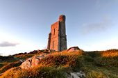 Milner Tower On Brada Head, Isle Of Man, Uk