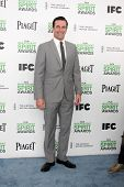 LOS ANGELES - MAR 1:  Jon Hamm at the Film Independent Spirit Awards at Tent on the Beach on March 1
