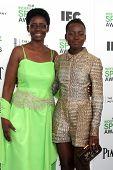 LOS ANGELES - MAR 1:  Dorothy Nyong'o, Lupita Nyong'o at the Film Independent Spirit Awards at Tent on the Beach on March 1, 2014 in Santa Monica, CA