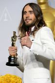 LOS ANGELES - MAR 2:  Jared Leto at the 86th Academy Awards at Dolby Theater, Hollywood & Highland o