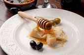 appetizer parmesan cheese and honey