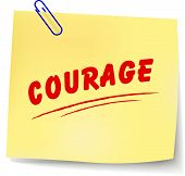 Courage Message