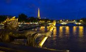 View From Pont Alexandre Iii In Paris