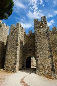 The Medieval Castle Castelo Dos Mouros, Sesimbra, Portugal