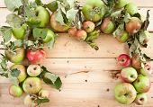 Various Organic Apples