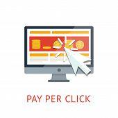 Pay per click illustration