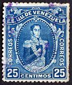Postage Stamp Venezuela 1914 Simon Bolivar, Portrait