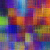 art abstract colorful geometric pattern; tiled background in rainbow colors