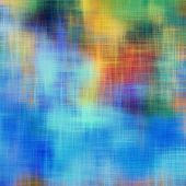 art abstract grunge dust textured background in blue, orange and green colors