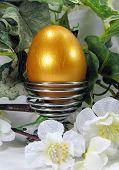 Golden Egg - Spring Easter decoration