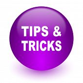 tips tricks internet icon