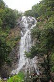 Sarika A Famous Waterfall In Nakhonnayok, Thailand