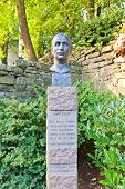 Bust Of Poet Henrik Steffens (1995). Stavanger, Norway