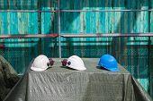 Three Helmets