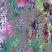 art abstract colorful acrylic and pencil background in pink, blue, green and violet colors
