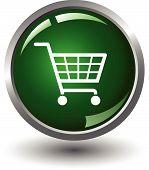 Shopping basket button