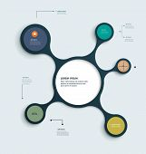 Infographics Molecule Design Template