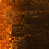 art abstract colorful geometric pattern background in orange, brown and black colors