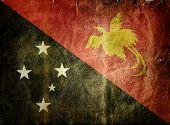 pic of papua new guinea  - flag of Papua New Guinea  - JPG