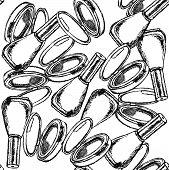 Sketch Powder Compact And Nail Polish