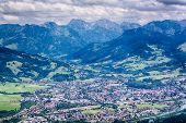 Immenstadt, Germany - City And Mountains