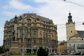 Lviv cityscape