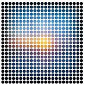 Abstract raster mosaic