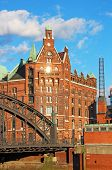 Speicherstadt Warehouse District Of Hamburg