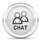 chat internet icon