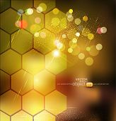 vector brown abstract background for business