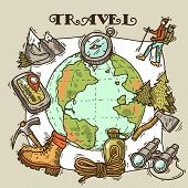 travel illustration