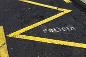 spanish police parking