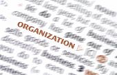 picture of glossary  - Organization dictionary word - JPG