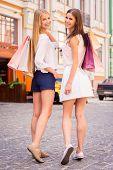 Friends Shopping.