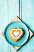 Valentine Cookie Heart