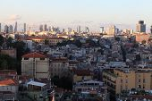 Landscape Of Istanbul City From Galata Tower