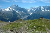 Trail And Peaks Nearby Chamonix In France