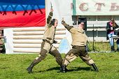 Demonstration performances of special troops