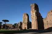 Caracalla Baths In Rome