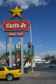 Carl's Jr. Restaurant Sign