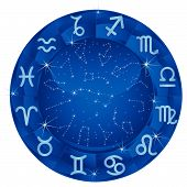 Blue Zodiac Circle.eps