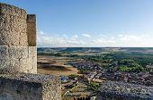 Stone Tower Of Penafiel Castle, Spain