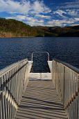 Pier to a Refreshing Lake
