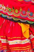 Traditional Folk Costume From Ecuador, South America