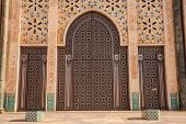 Gate Of Hassan Ii Mosque