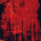 Old abstract texture with grunge stains. With different color patterns: brown; red (orange); black