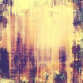 Old, grunge background texture. With different color patterns: purple (violet); yellow (beige); brown